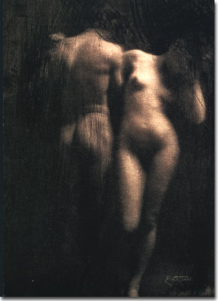 Adam et Eve d'Eugène Franck