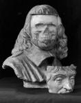 Buste de Descartes par Paul Richer